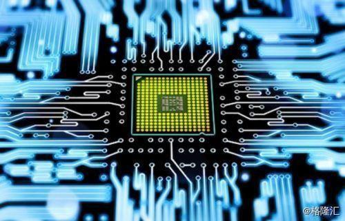芯片 电路 素材 png